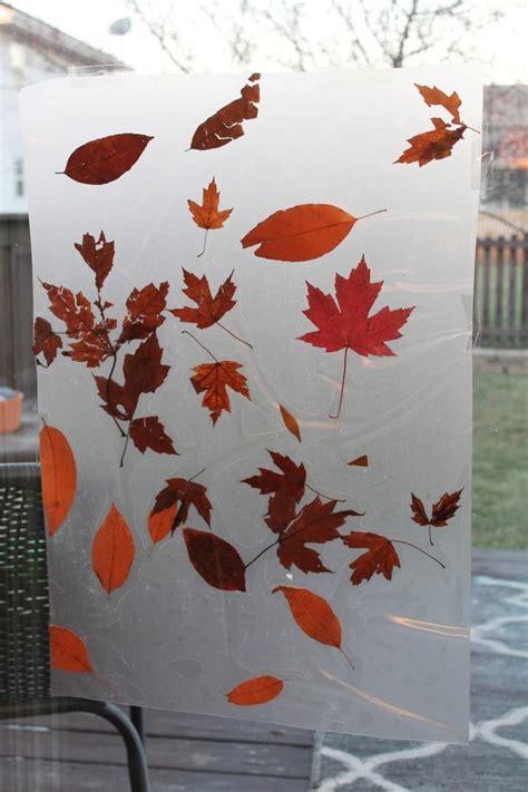outdoor art autumn leaf collage