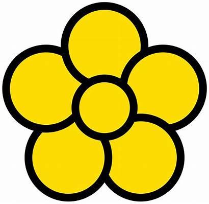 Flower Svg Petal Icon Five Wikipedia Wiki