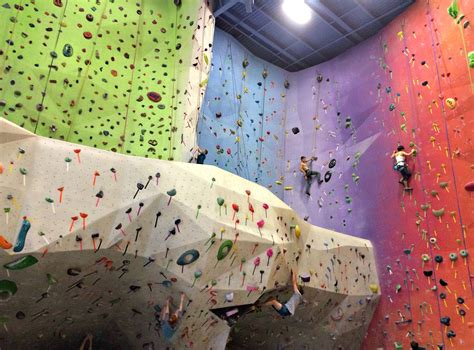 climbing rock gym experience climb planet fitness chalk bags equipment shoes ropes joke there
