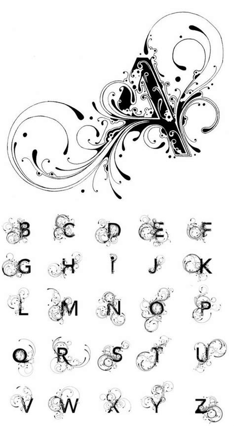 pin  jessy  tattoo fonts tattoo lettering lettering alphabet lettering styles