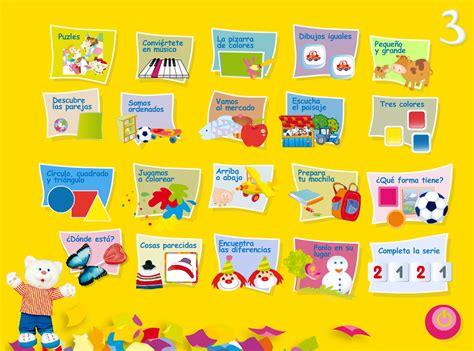 20 Juegos Interactivos Para Niños De 3 Años (proyecto