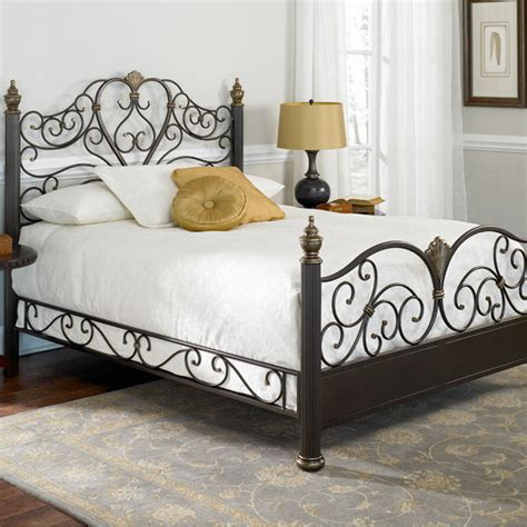 White King Headboard With Storage by Elegance Metal Bed Tropical Beds Atlanta By Iron