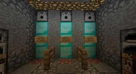 underground safe house minecraft project
