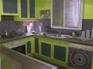 cuisine gris et vert anis decoration chambre gris et bleu par photosdecoration