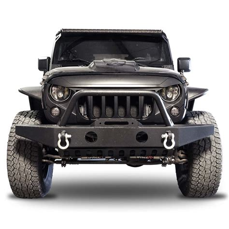 jeep jk grill genssi abs angry style grille for jeep wrangler jk 2007 2015