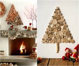 decoration murale a faire soi meme sapin de no 235 l en bois rustique en 35 alternatives au sapin traditionnel
