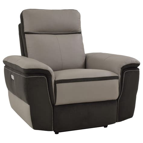 recliner with usb port homelegance laertes 8318 1pw contemporary power recliner