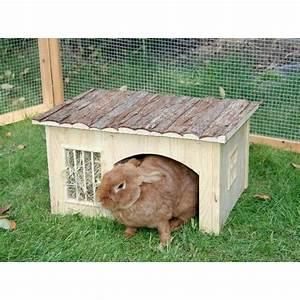 Maison Pour Lapin : cabane en bois pour lapin ~ Premium-room.com Idées de Décoration