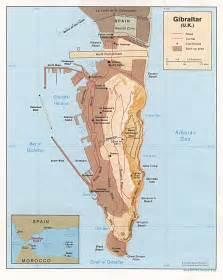 ジブラルタル:ジブラルタルの詳細図