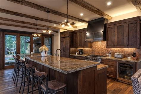 Countrystyled Kitchen Special Aspects Of Decoration