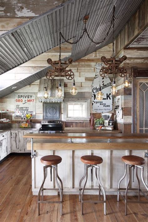 rustic farmhouse  built  decorated