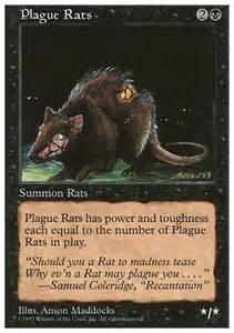 plague rats mtg card