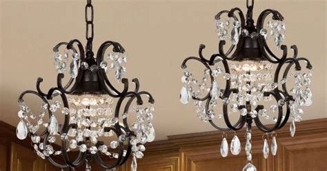 Gallery Versailles Wrought Iron And Crystal Mini