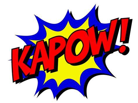 Kapow Comic Book · Free Image On Pixabay