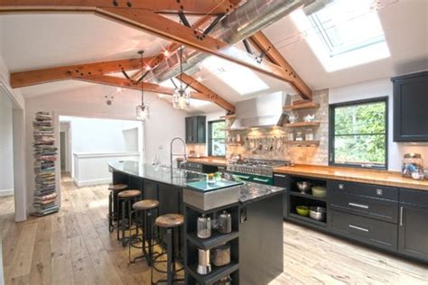 industrial design kitchen decor mash ups rustic industrial decor 1835