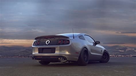 muscle cars landscape ford mustang gt wallpapers hd