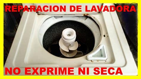 lavadora whirlpool no exprime no seca youtube