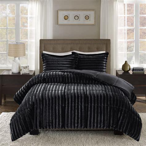 mini settee park duke faux fur comforter mini set