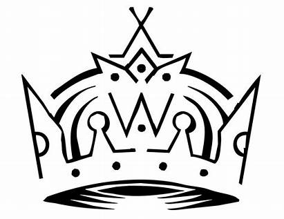 King Crown Queen Coloring Pages Kings Clipart