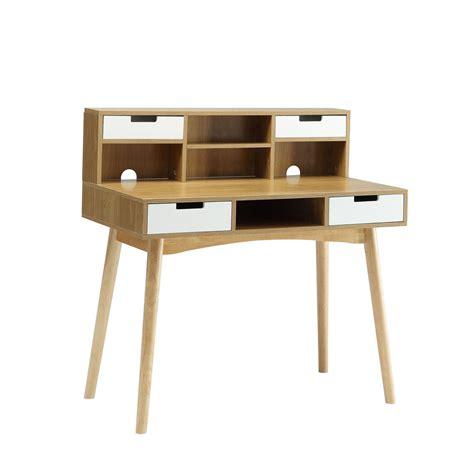 oak desk with hutch oslo light oak computer desk with hutch convenience