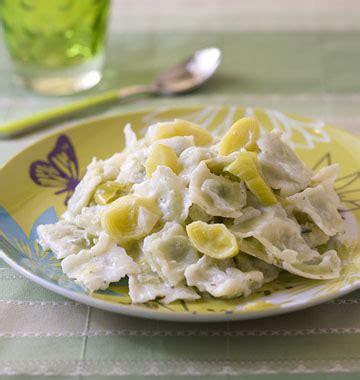 recette avec du boursin cuisine ravioles sautées aux poireaux et au boursin les