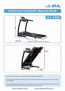 Jll S300 Folding Treadmill Manual