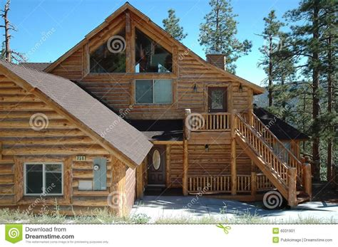 cabin style home log cabin style home stock image image of home outdoor