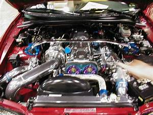 Supra Engine Bay