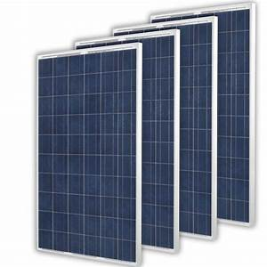 Solarzelle Für Gartenhaus : solarpanel 960watt solarmodul solarzelle 4 x 240watt ~ Lizthompson.info Haus und Dekorationen