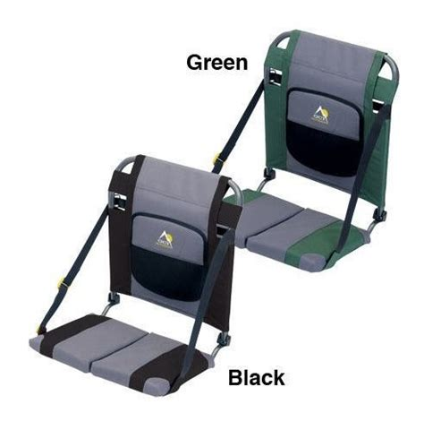 gci outdoor stadium chair cing station gci outdoor sit backer canoe seat