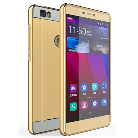 huawei honor v10 aluminum metal frame with tempered glass back cover for