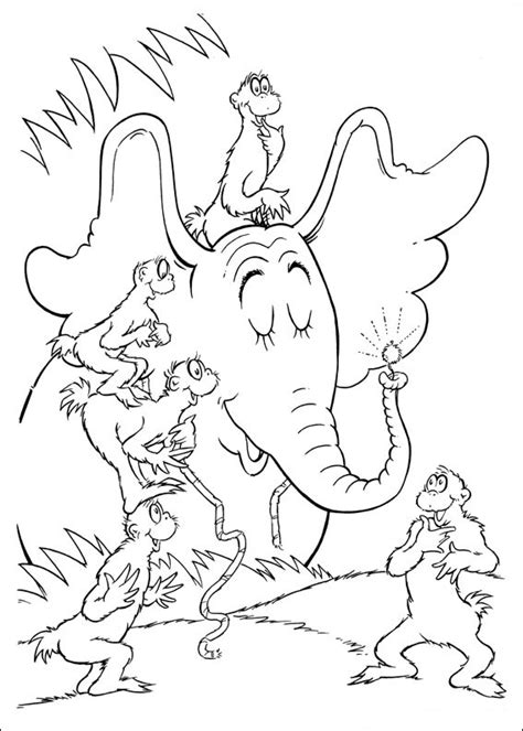 Dr Seuss Coloring Pages - GetColoringPages.com