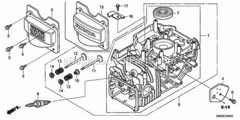 Honda Gcv Parts List Diagram Type Vin Gjae