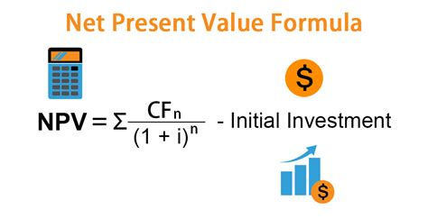 net present  formula examples  excel template