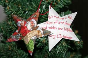 funezcrafts easy christmas crafts five point star