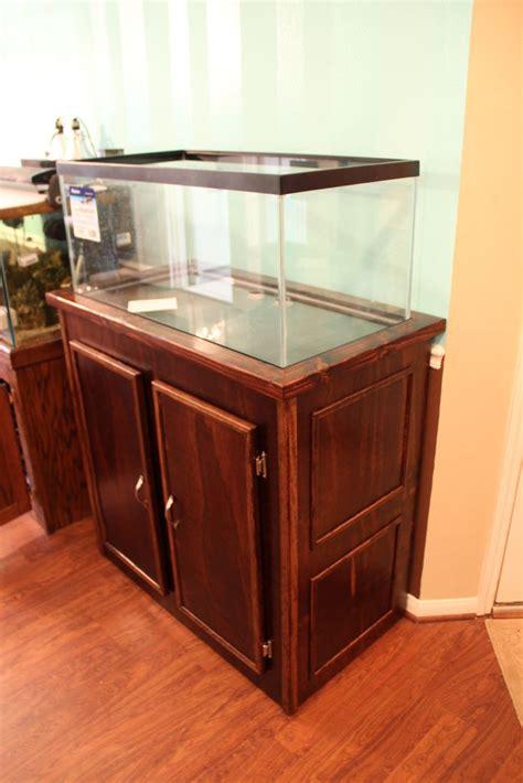 diy aquarium stand  gallon breeder plans diy   projects bed furniture