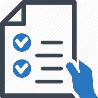 Icon Feedback Form Inquiry Check Mark Checklist