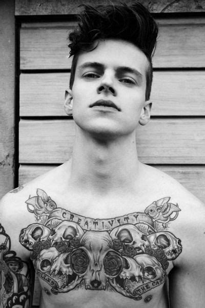 Awesome chest piece #tattoos #tattooed #ink   GRAYSCALE   Pinterest   Face hair, Boys and Creativity
