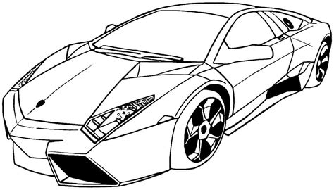 Cool Car Coloring Pages Coloring Home