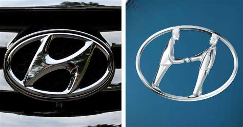 Hyundai Logo by The Toyota Hyundai Logos Actually Much More Than