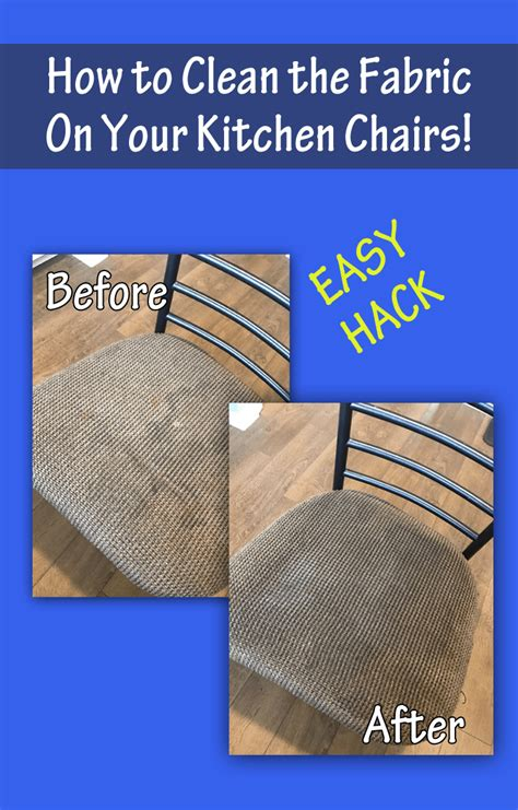 Easy To Clean Upholstery Fabric by How To Clean Fabric On Kitchen Chairs With Johnson S Baby