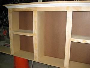 DIY Bookcase Headboard Building Plans PDF Download kitchen