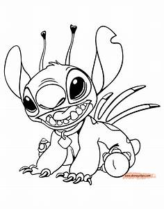 Stitch Coloring Page Coloring Home