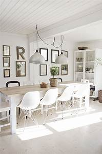 inspiration scandinave cosy neve design With salle à manger blanche