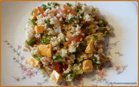 cuisiner boulgour salade de boulgour aux légumes d 39 été et à la mimolette recette iterroir