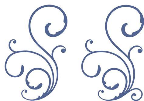 decorative swirl svg cut file burton avenue - Decorative Swirls