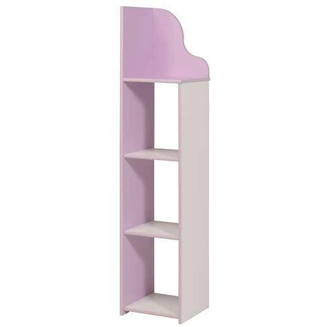 colonne de rangement pour chambre colonne de rangement enfant contemporaine blanche lilas