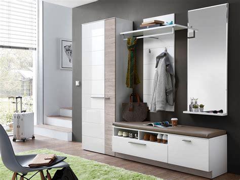 möbel garderobe modern dublin bank gro 223 inkl sitzkissen wei 223 taupe