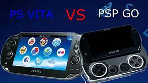 PS VITA VS PSP GO Comparison And Gameplay! - YouTube