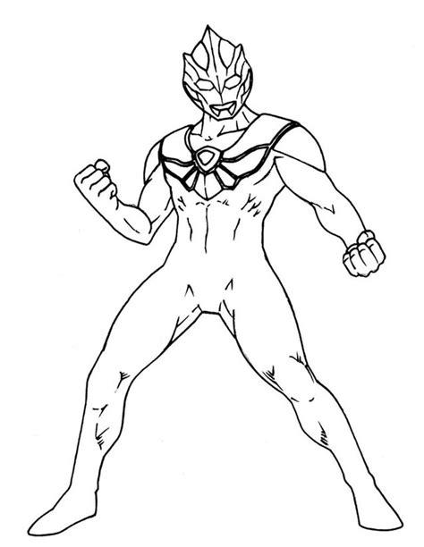 Coloring Ultraman Geed by Coloriage Ultraman 224 Imprimer Gratuitement